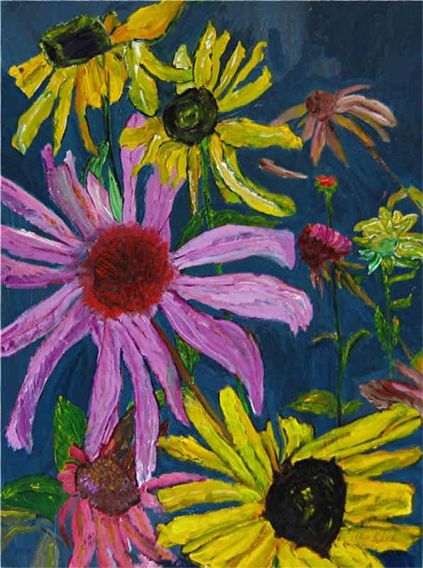 Echinacea and Black-eyed Susan